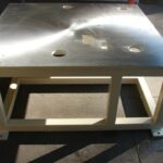 Machined Steel Table Top