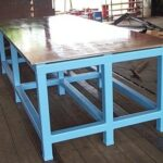 Fabricated Steel Table