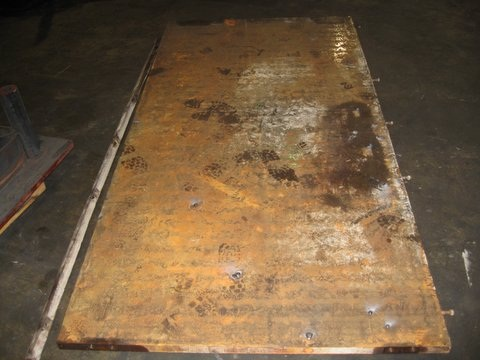 Welding, Repairing, and Grinding Plywood Platens