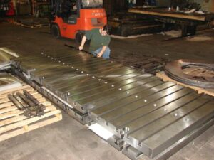 T-Slotted Steel Bolster Plates Large