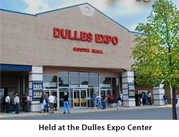Dulles Expo Center location for show