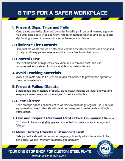 8 Safety Tips