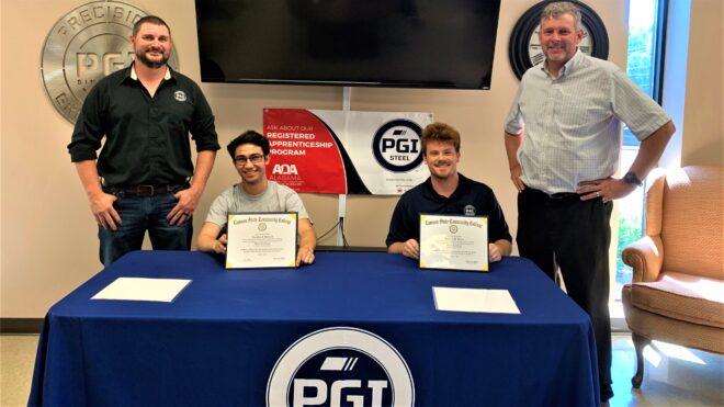 PGI STEEL APPRENTICES RECEIVE CERTIFICATES IN COMPUTER NUMERICAL CONTROL